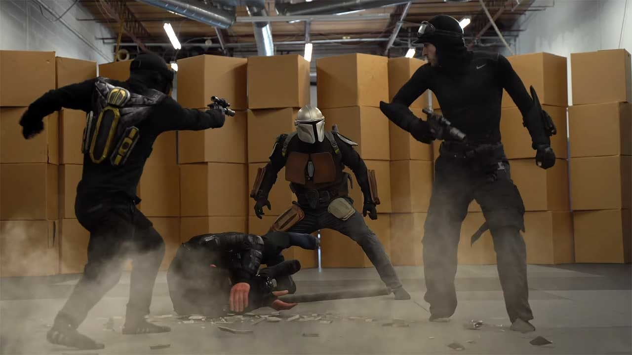 """Star Wars: The Mandalorian"" Stunt Tribute"