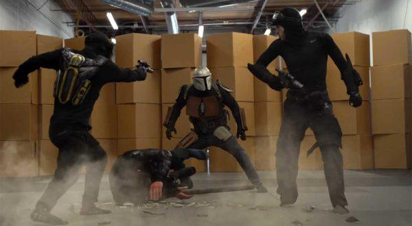 """Star Wars: The Mandalorian"" Stunt Tribute"