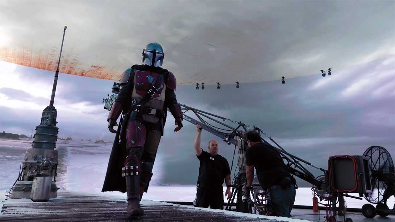 """Making of """"Star Wars: The Mandalorian"""": Der Einsatz von Virtual Sets -  Green Screen war gestern - seriesly AWESOME"""