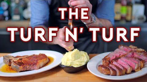 "Binging with Babish: ""Turf n' Turf"" aus ""Parks & Recreation"" nachgekocht"