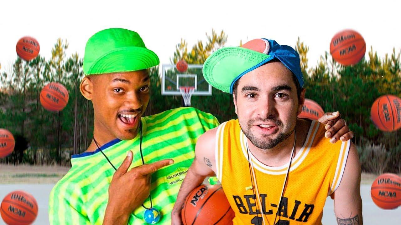 Fresh Prince: Titelsong mit Basketbällen nachgestellt