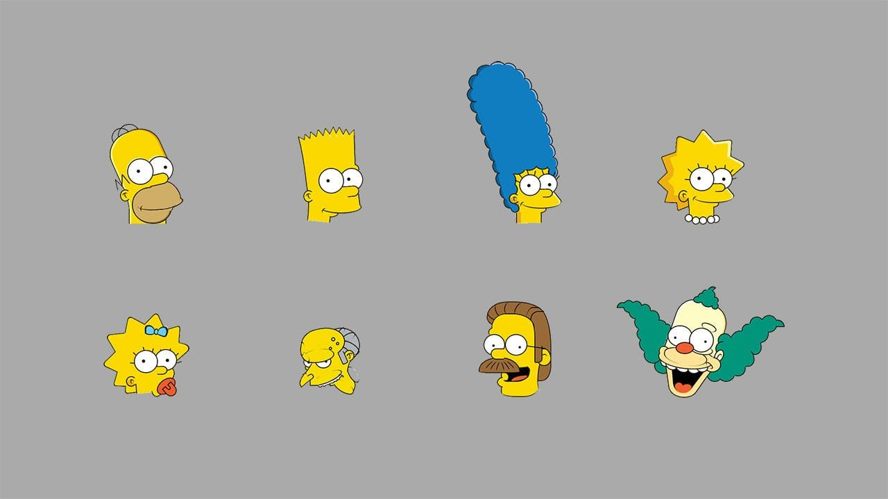 Die Simpsons in CSS programmiert