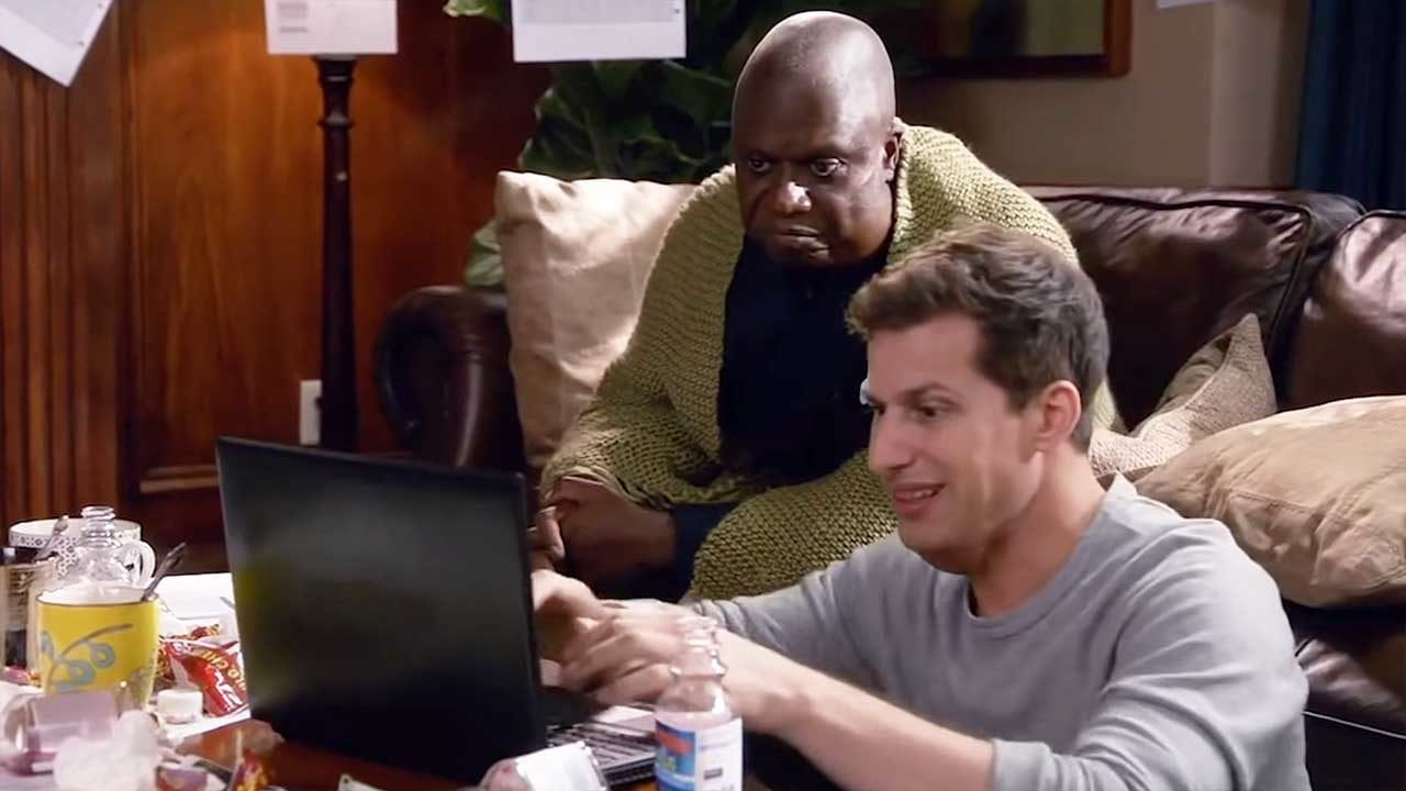Jake Peralta und Captain Holt in Quarantäne