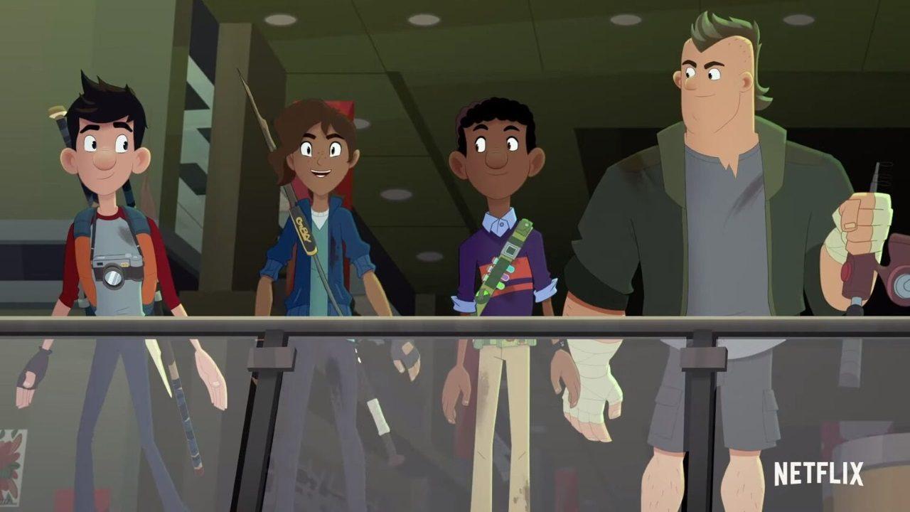 Jack, der Monsterschreck: Trailer zum 2. Teil der Zombie-Zeichentrickserie