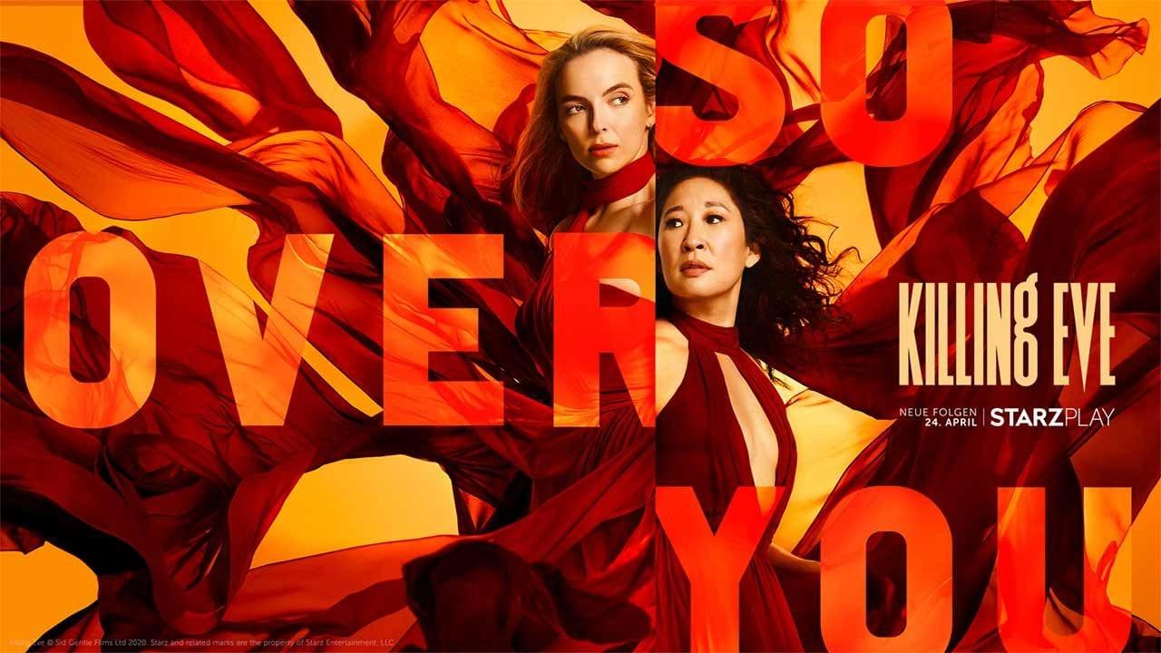 Killing Eve: 3. Staffel startet bereits am 24. April in Deutschland (Trailer)