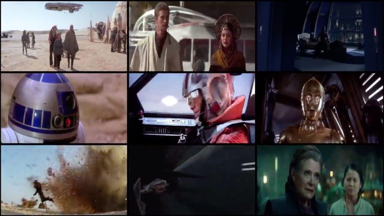 Star Wars: Alle Filme gleichzeitig schauen