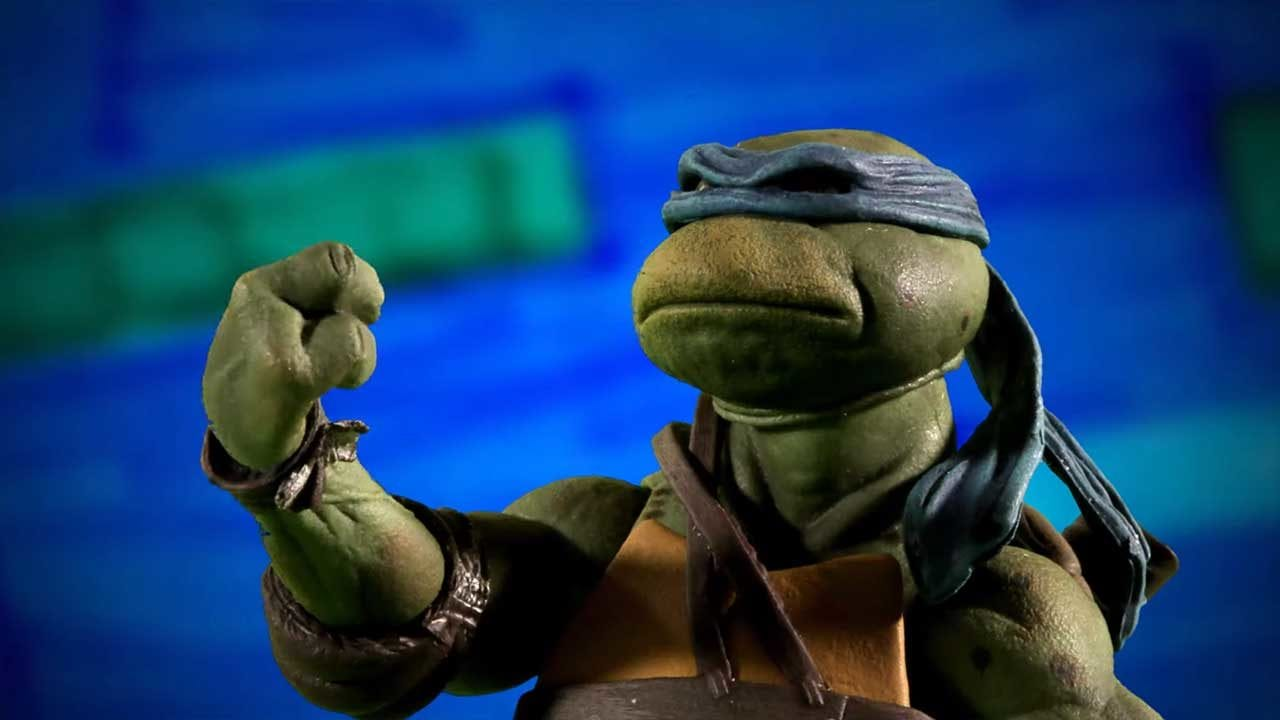 "Stopmotion-Trailer zum ""Teenage Mutant Ninja Turtles""-Film 1990"