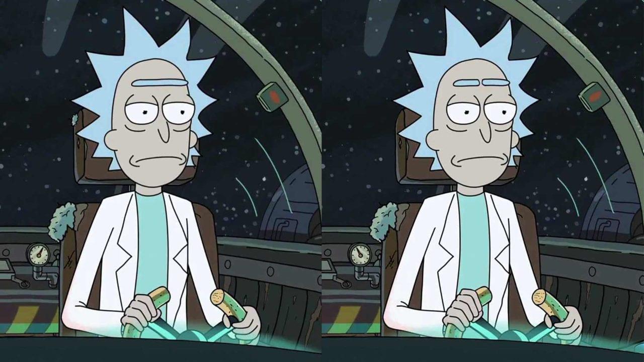 """Finde die 12 Unterschiede zwischen den """"Rick and Morty""""-Bildern"""
