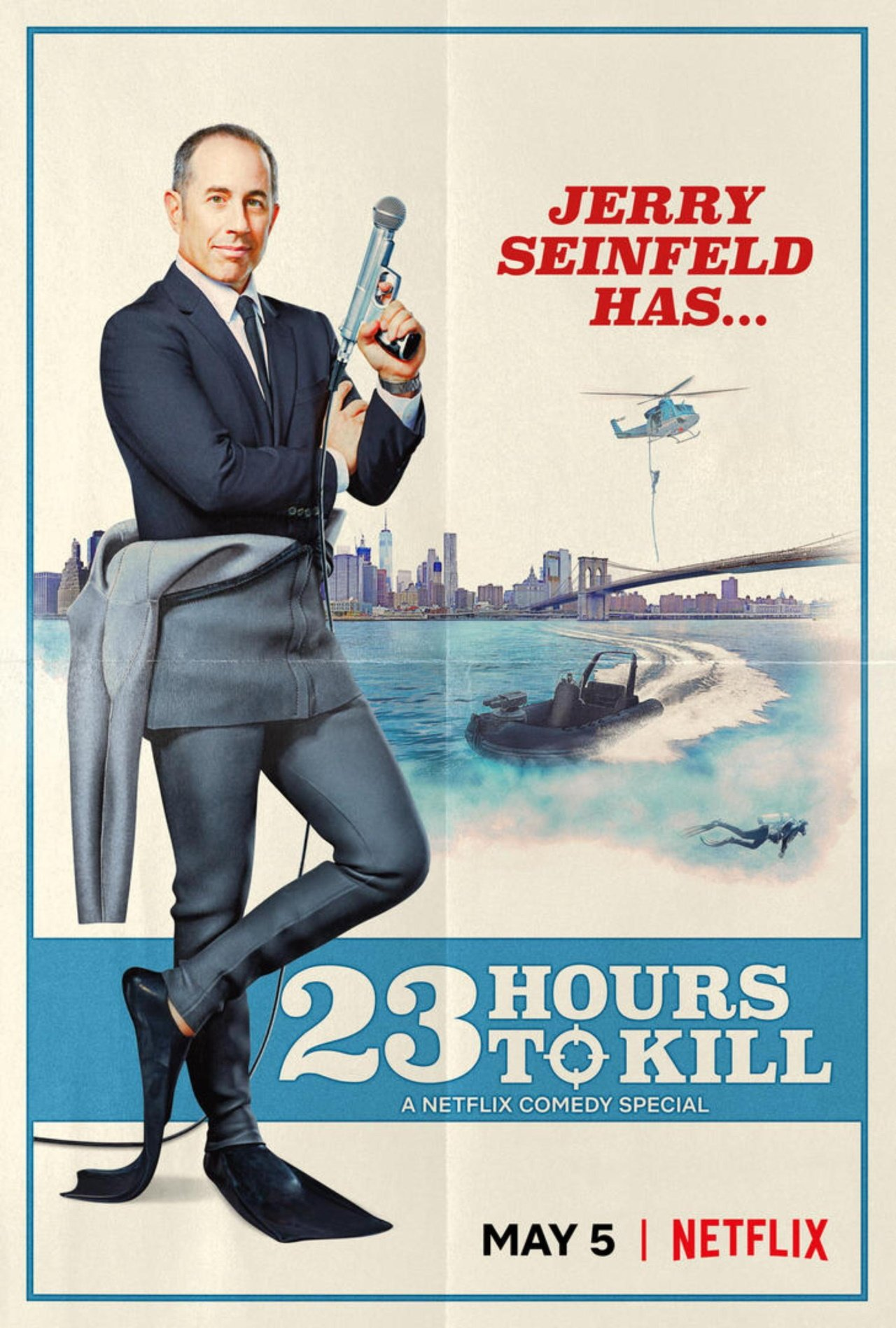 Jerry Seinfeld 23 Hours to Kill Poster