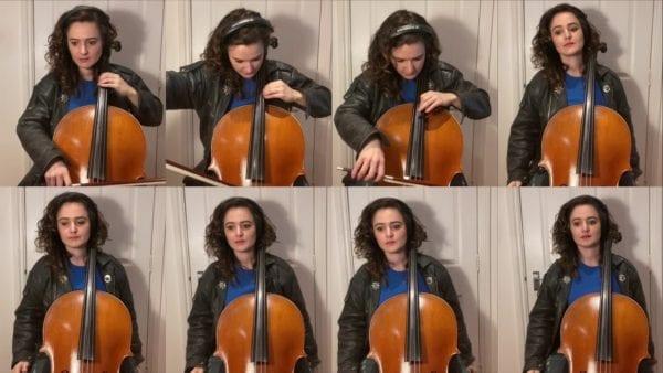 Das Knight Rider-Theme mit 8 Cellos
