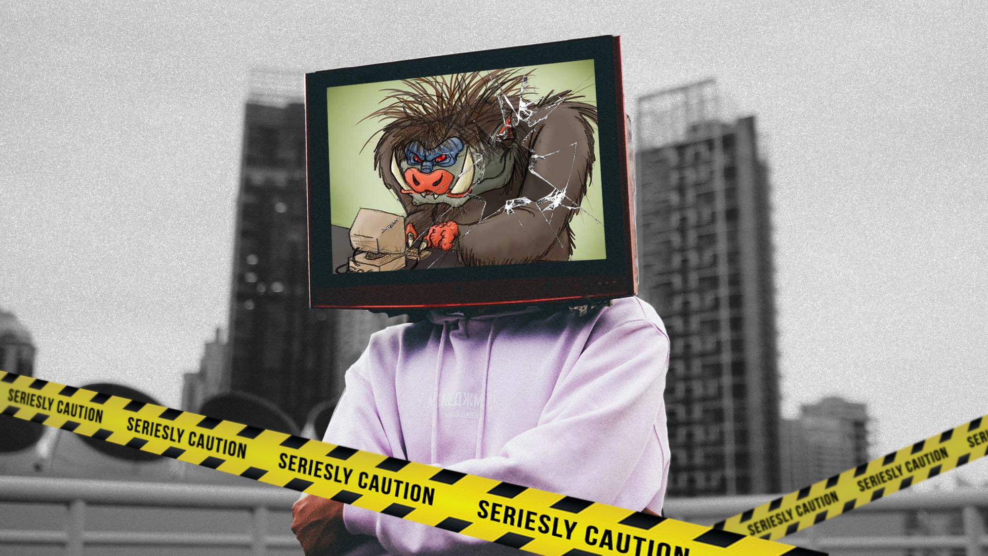 TV-Aufreger-Trolls