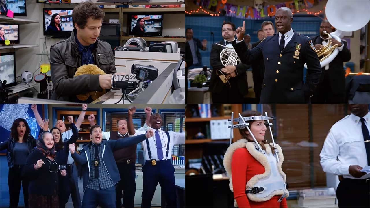 "ALLE Cold Openings aus 7 Staffeln ""Brooklyn Nine-Nine"" am Stück"