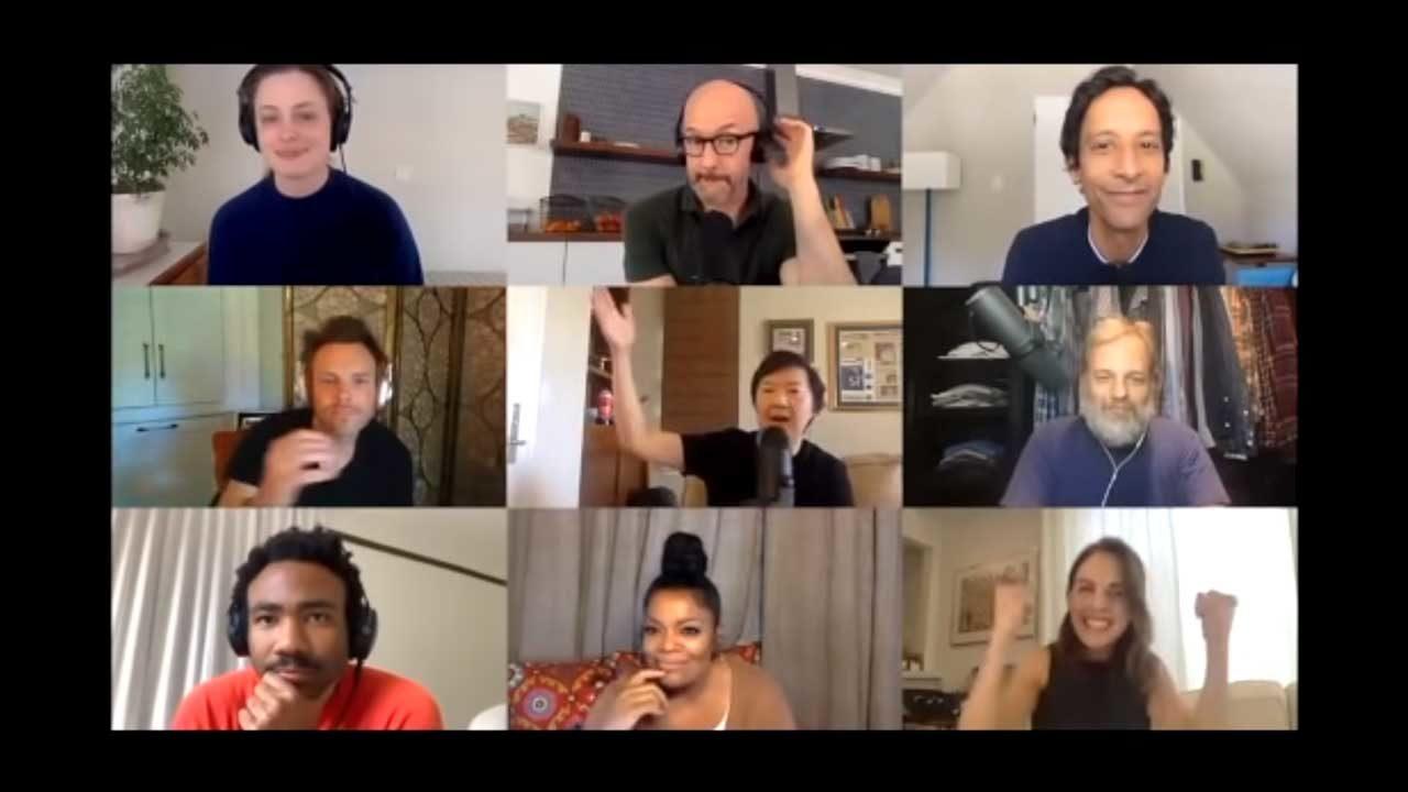 Community: Reunion mit Cast & Crew im Zoom-Videochat