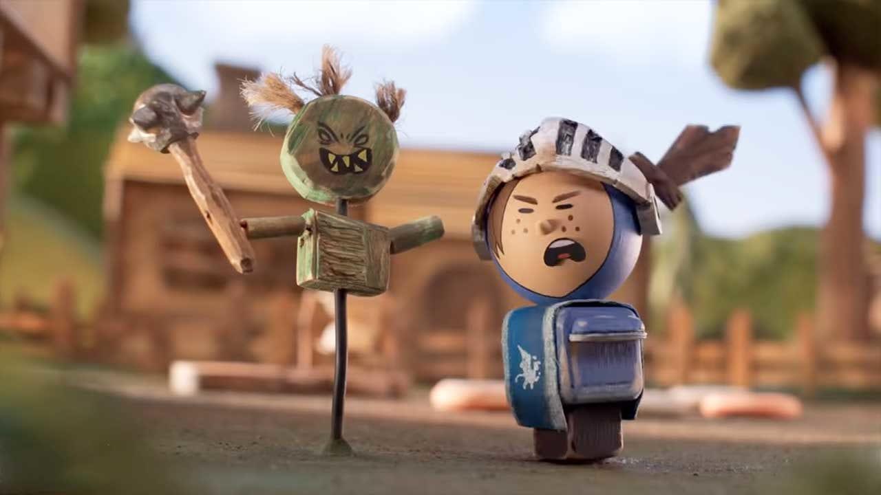 "Trailer zur neuen Stopmotion-Serie ""Crossing Swords"""