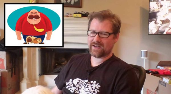 Justin Roiland improvisiert Synchronstimmen für Cartoonfiguren