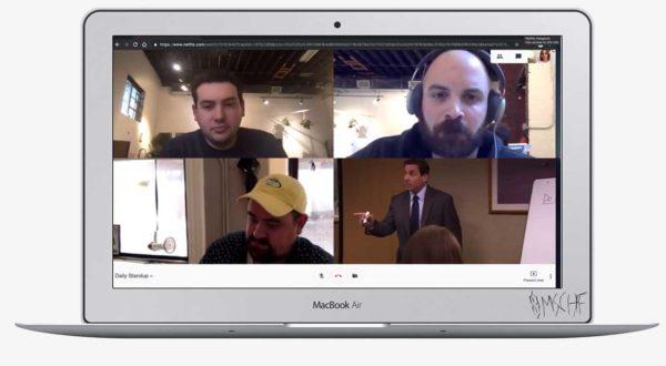 Netflix Hangouts: Heimlich streamen und tun, als sei ein Videocall