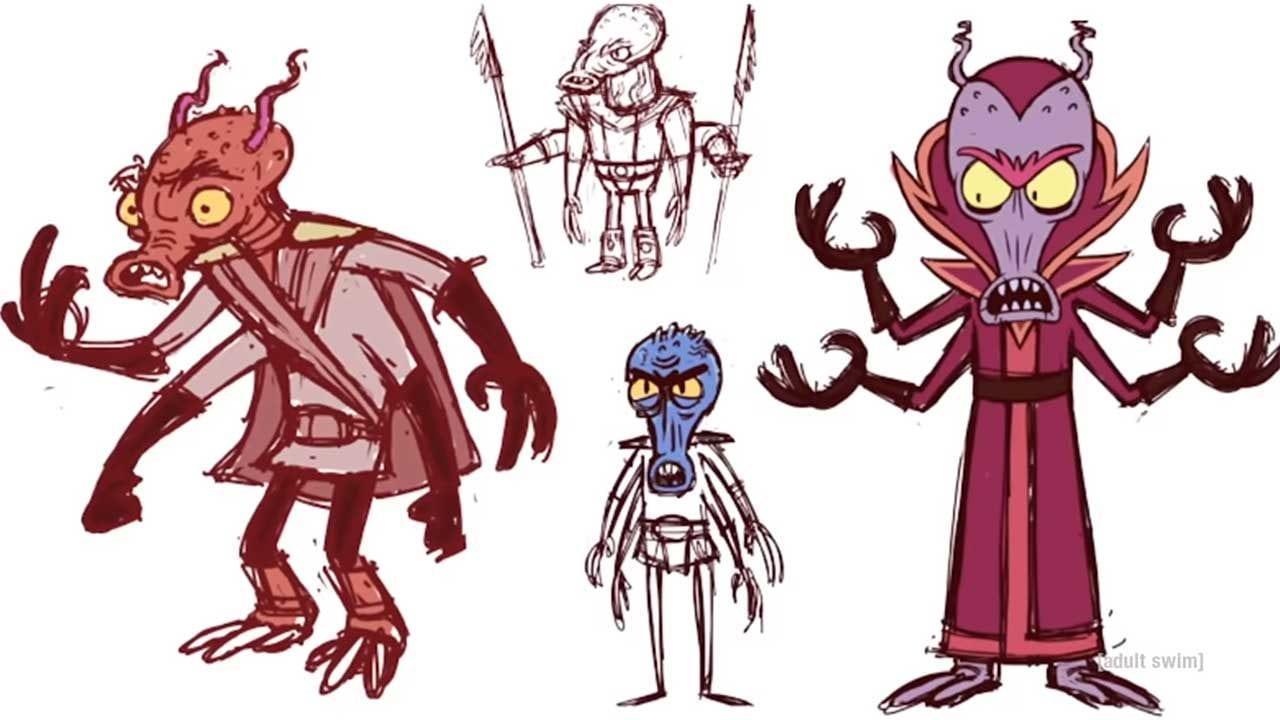 "So werden neue Figuren in ""Rick and Morty"" erstellt"