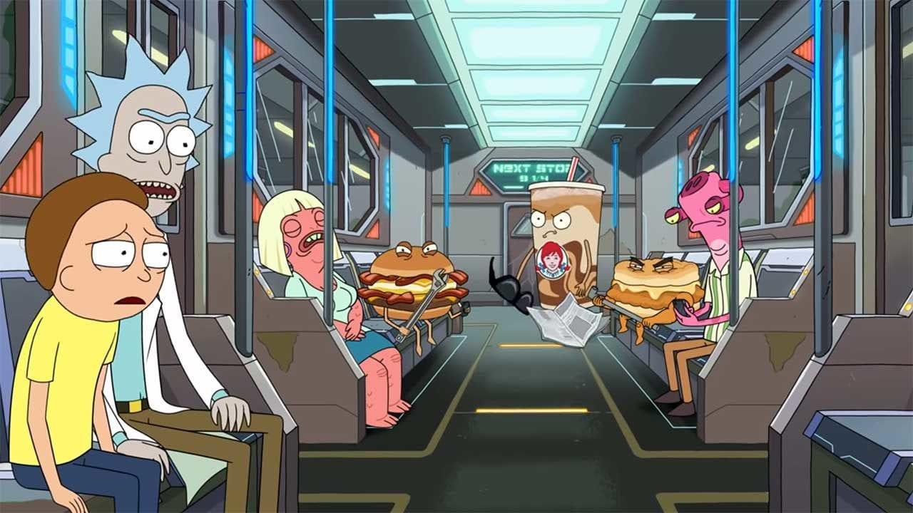 """""""Rick and Morty"""" Werbespot für Wendy's"""