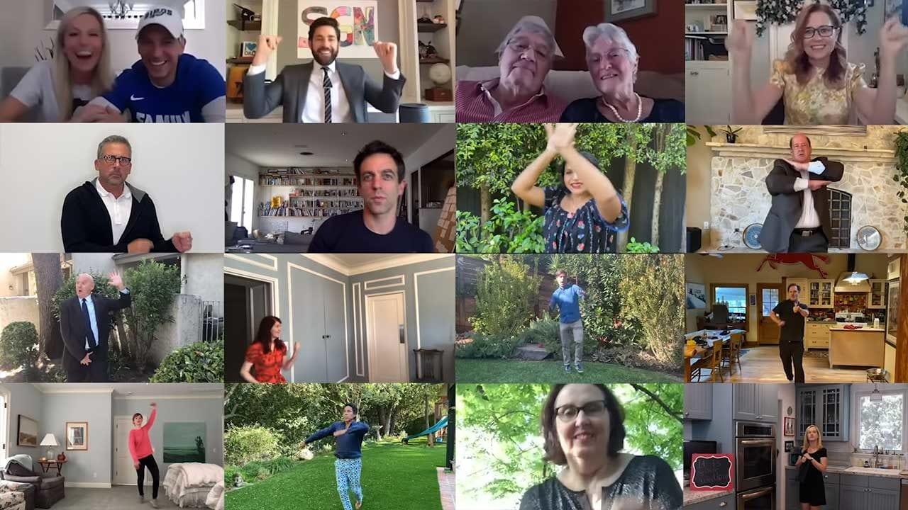The Office: Cast überrascht frisch vermähltes Ehepaar über Videochat