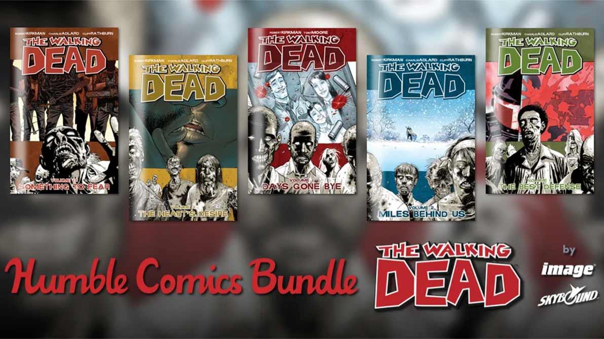The Walking Dead: Comicreihe aktuell günstig im Humble Bundle zu kaufen
