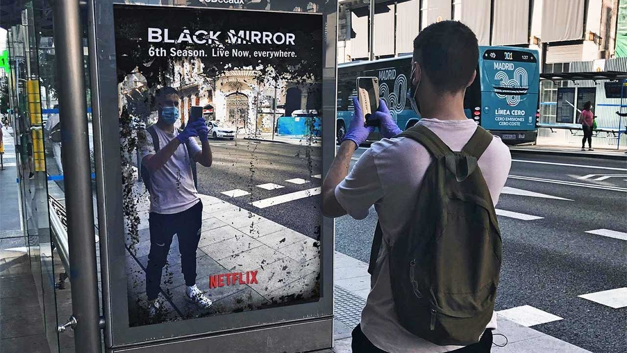 Black Mirror: Fake-Plakat versetzt 6. Staffel in die Realität