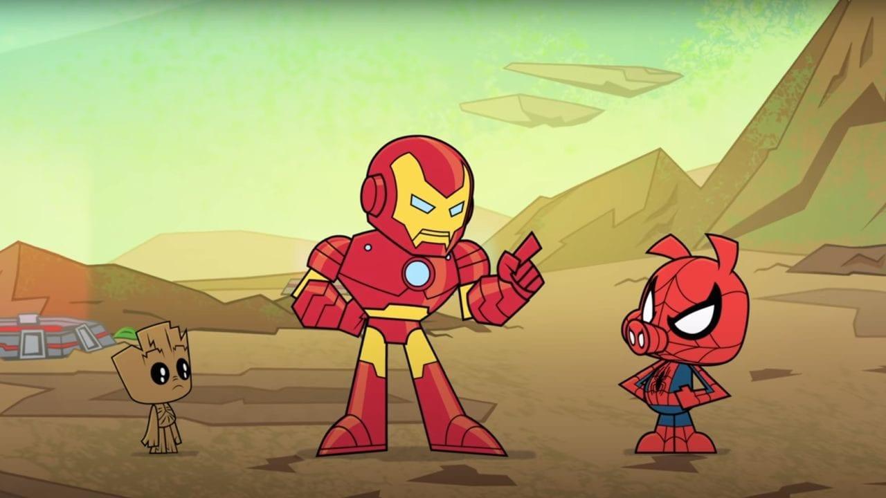 Marvel Battleworld: Komplette Folgen zur neuen Animationsserie
