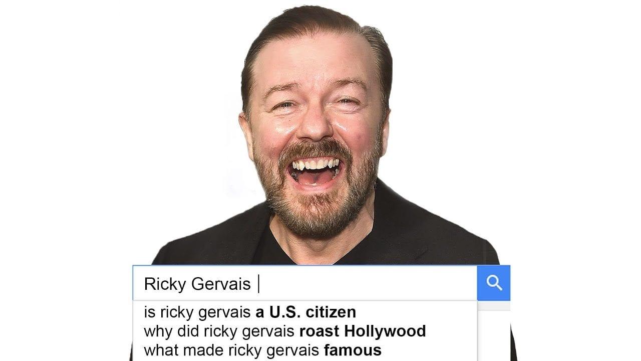 Was Sie schon immer über Ricky Gervais wissen wollten, …