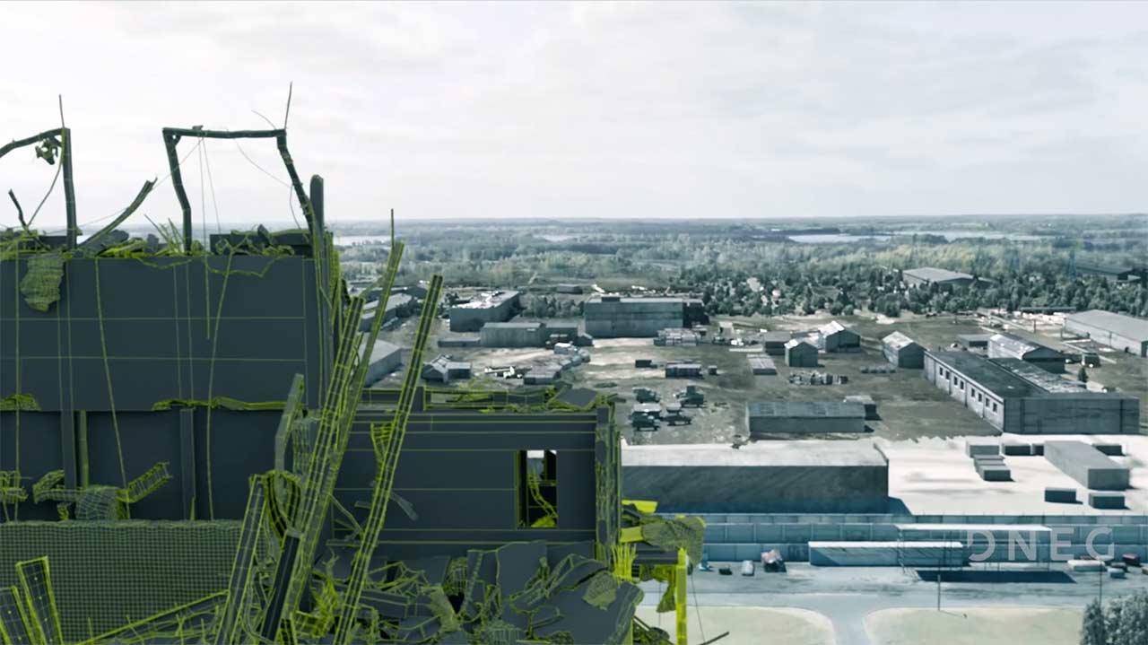 Chernobyl: Compositing Breakdown by DNEG