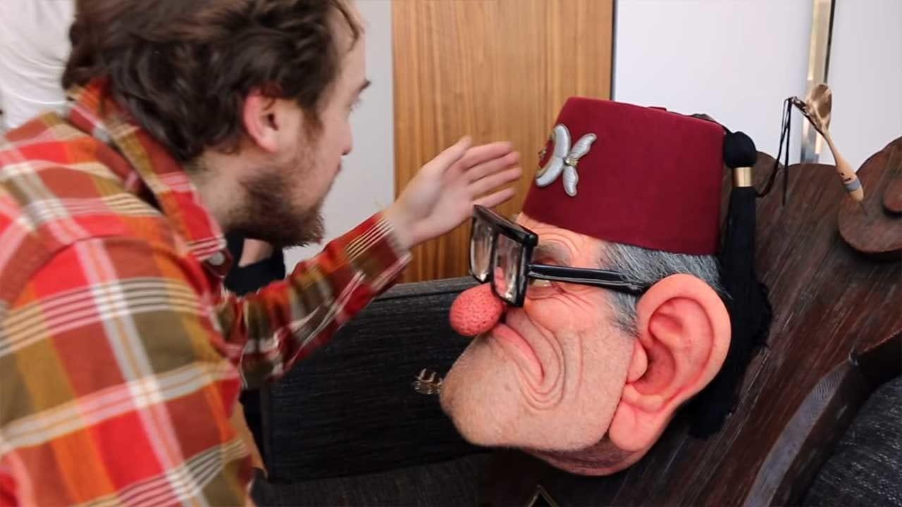 Die Entstehung einer Grunkle-Stan-Büste