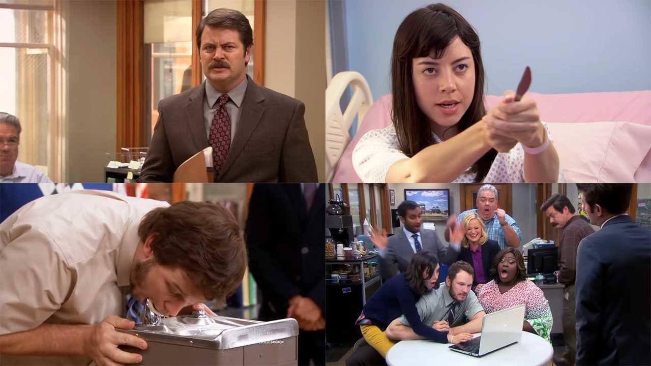 """Eine Sekunde aus jeder """"Parks and Recreation""""-Folge"""