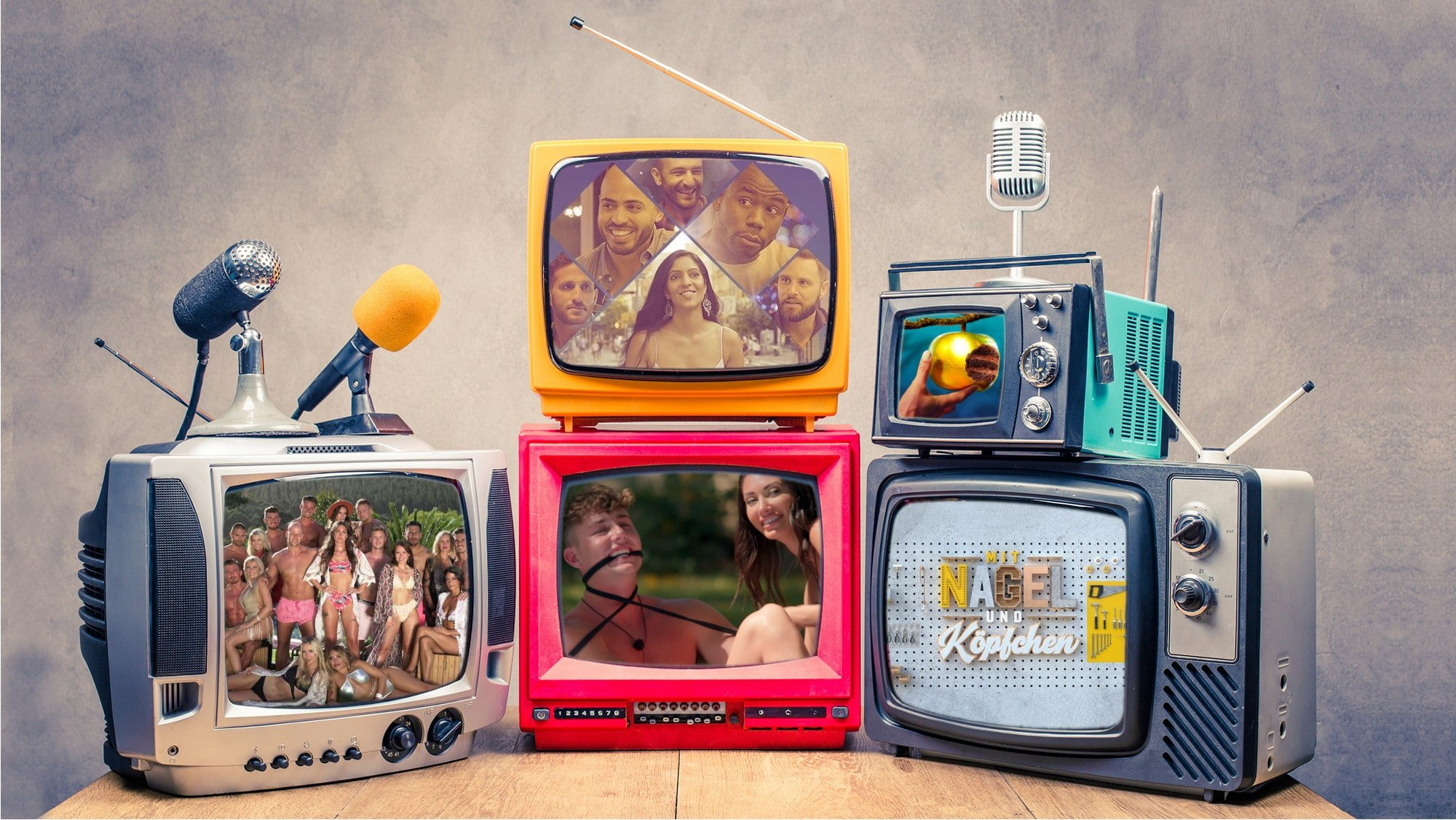 Awesome 5 neue Reality TV Formate