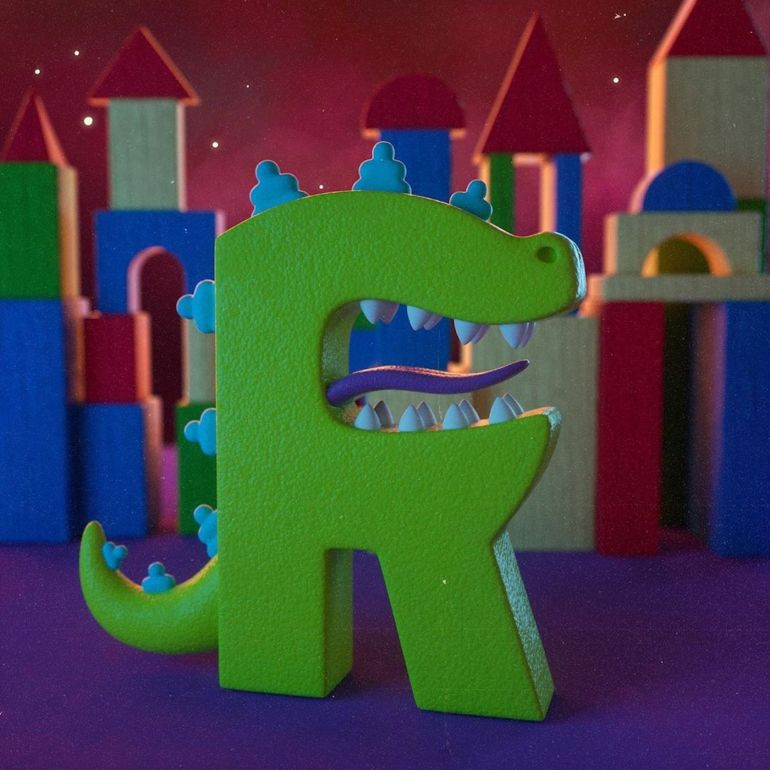 R for Reptar