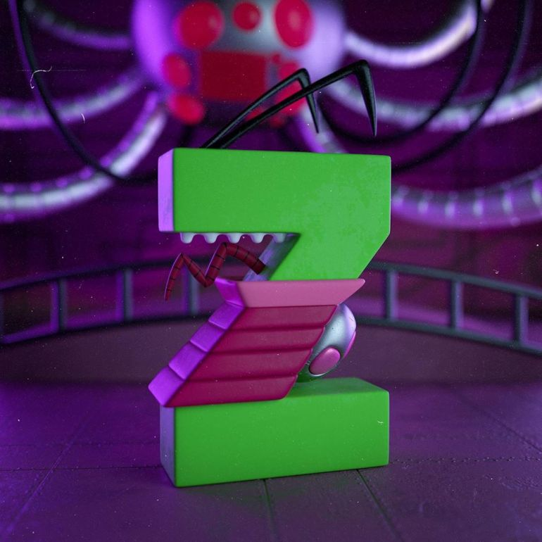 Z for Invader Zim