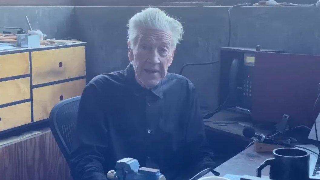 David Lynch sendet täglich – einen Wetterbericht