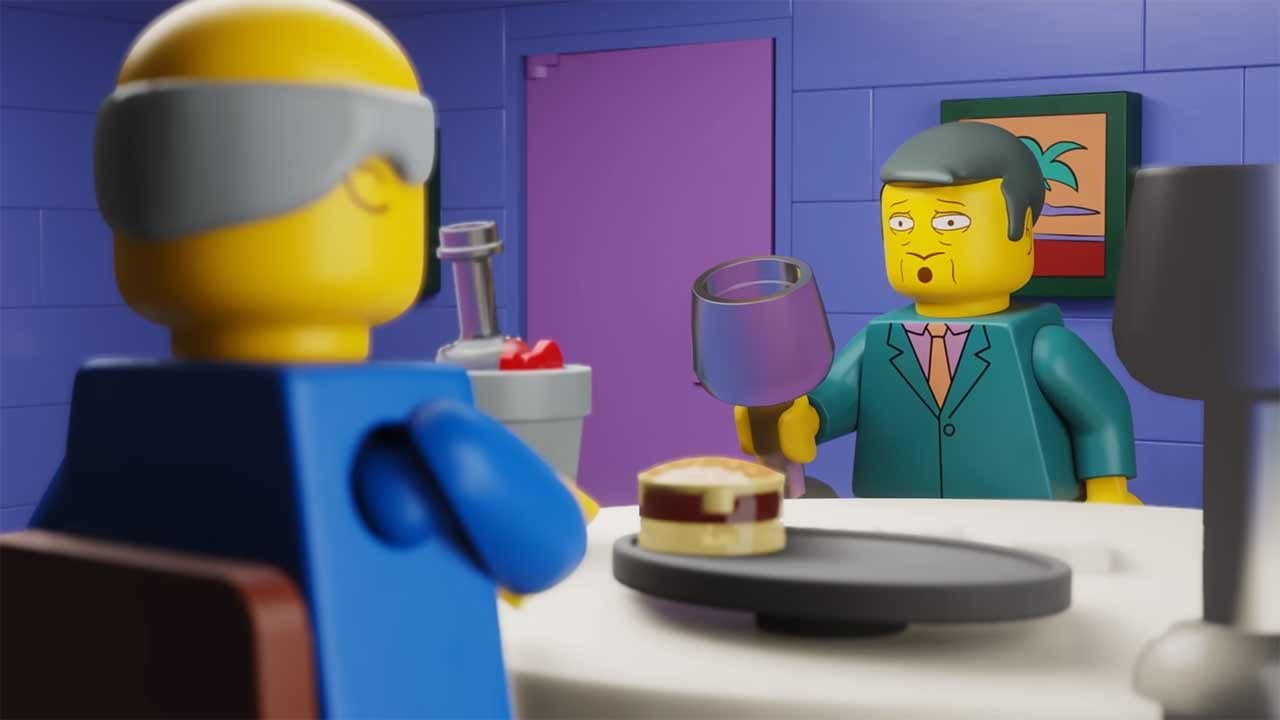 "Simpsons: Steamed Ham in LEGO und als ""Take on Me"""