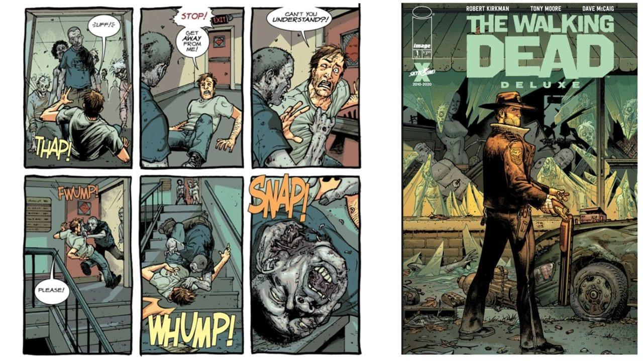 The Walking Dead: Alle Comics werden nachkoloriert