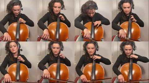 """""""X-Men""""-Theme auf Cellos gespielt"""