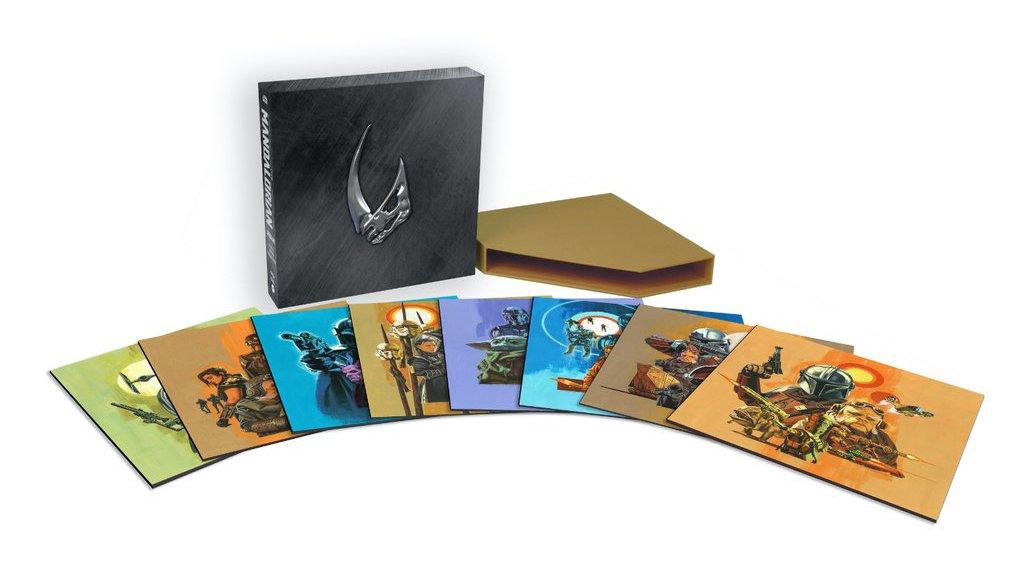 Star Wars The Mandalorian: Fette 8-LP-Vinylbox zum Soundtrack von Staffel 1