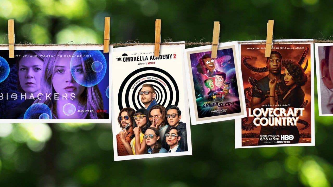 Serienposter von Neustarts August 2020