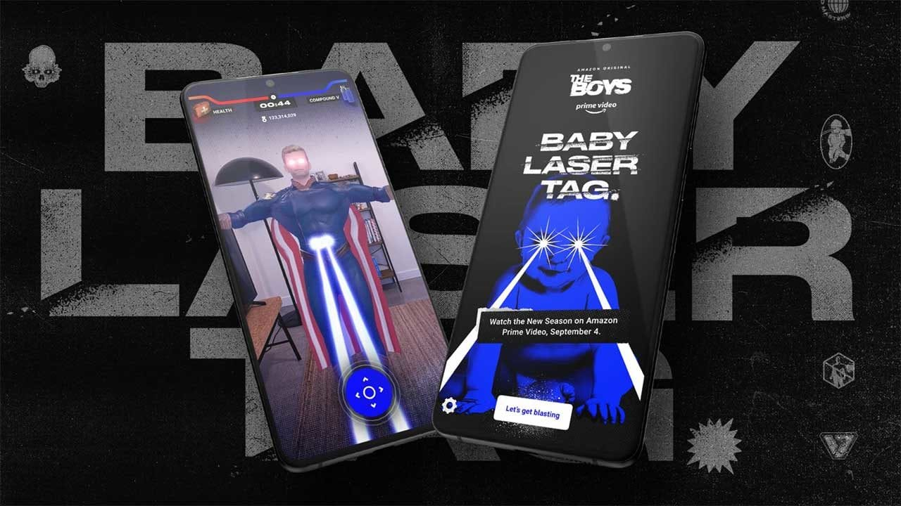 "The Boys: AR-Mobile-Spiel ""Baby Laser Tag"""
