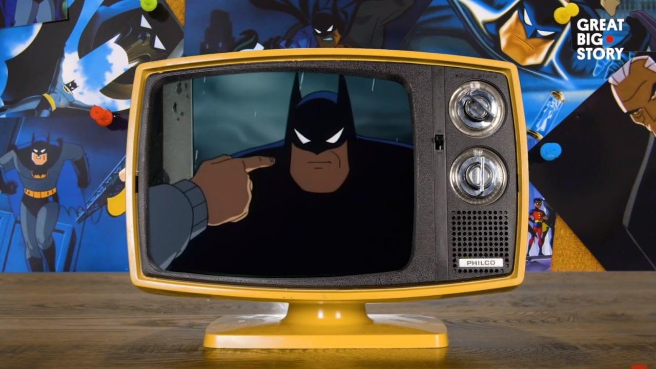 Die markante Stimme von Batman in den Zeichentrickserien