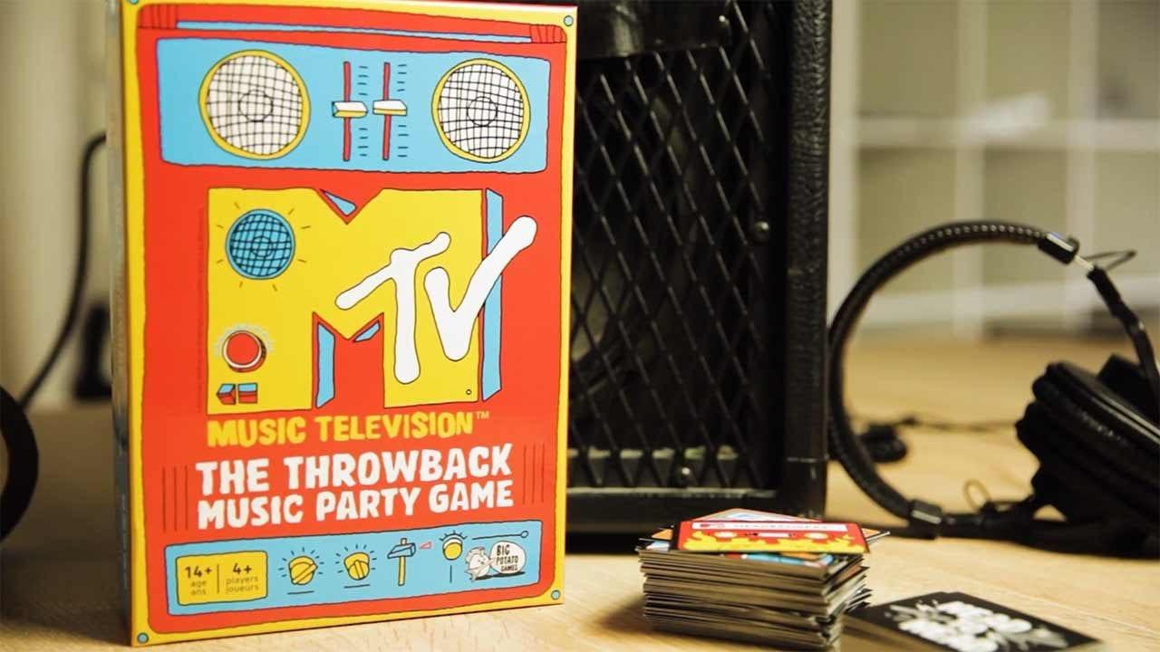 "Musikfernseh-Brettspiel ""MTV: The Game"""