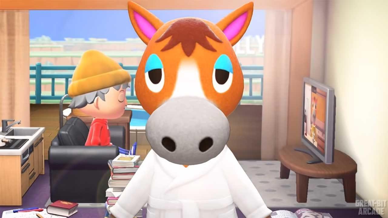 """BoJack Horseman""-Intro im Spiel ""Animal Crossing"" nachgestellt"