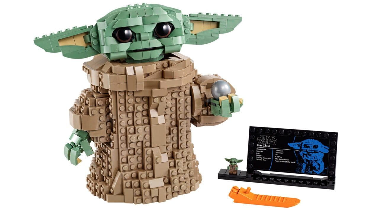 Star Wars The Mandalorian: Baby Yoda als LEGO-Set