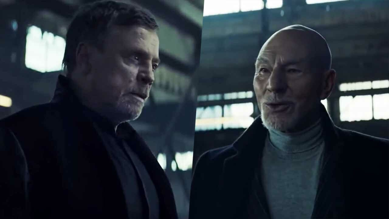 Mark Hamill gegen Sir Patrick Stewart in UberEats-Werbespot