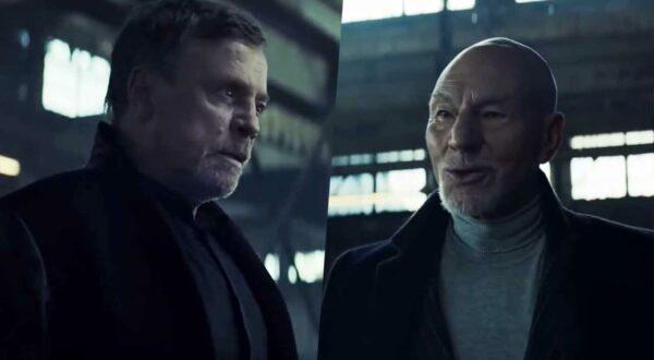 Mark Hamill gegen Sir Patrick Steward in UberEats-Werbespot