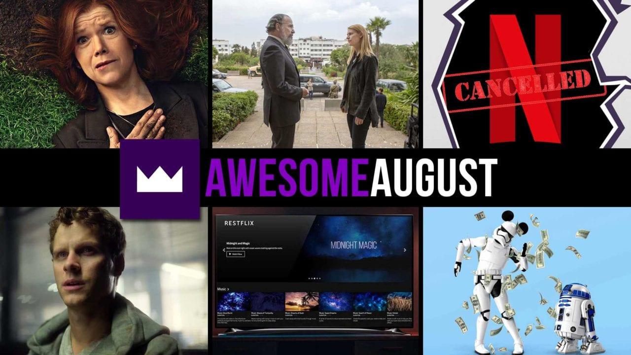 Toplisten: Die beliebtesten TV-Serien des Monats August 2020