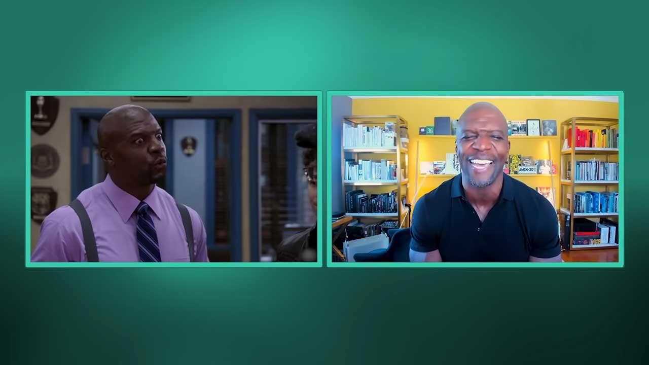 """Terry Crews reagiert auf einige der besten """"Brooklyn Nine-Nine""""-Szenen"""