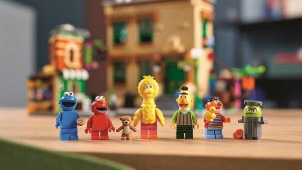 """Offizielles LEGO-Set zur """"Sesamstraße"""" kann man ab November kaufen"""