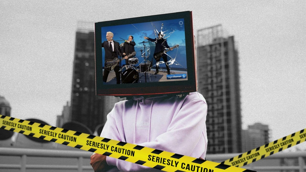 Mein TV-Aufreger der Woche: Die Ärzte in den Tagesthemen – dürfen die das?